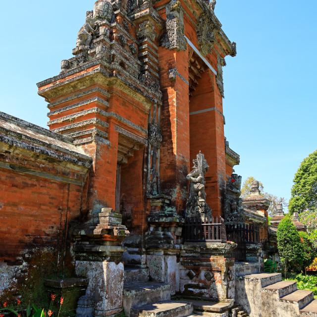 """Royal Temple of Tamun Ayun - Bali"" stock image"