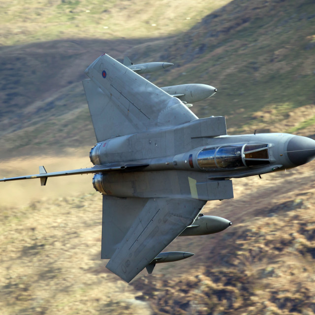"""RAF Tornado"" stock image"