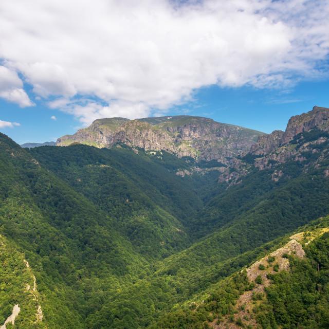 """""""Rila mountain in bulgaria ."""" stock image"""
