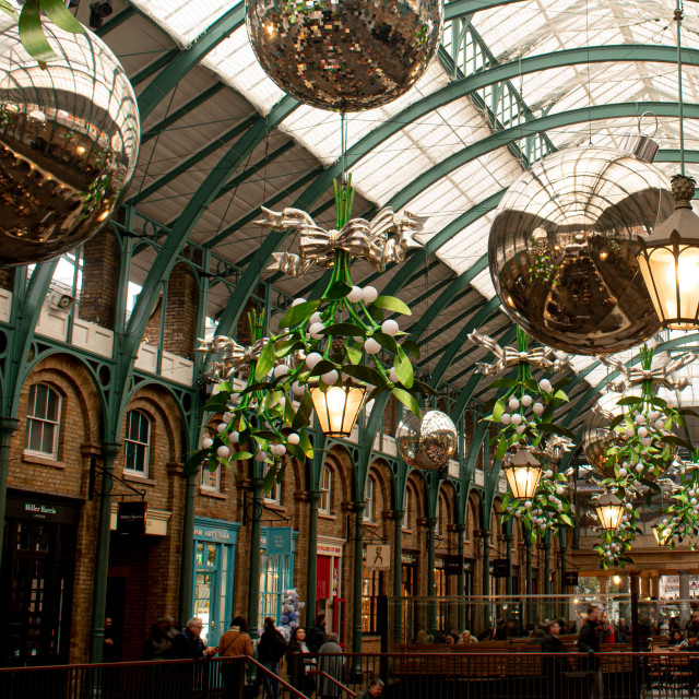 """""""Ceiling of Covent Garden"""" stock image"""