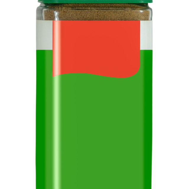 """""""Isolated Jar Of Instant Coffee"""" stock image"""