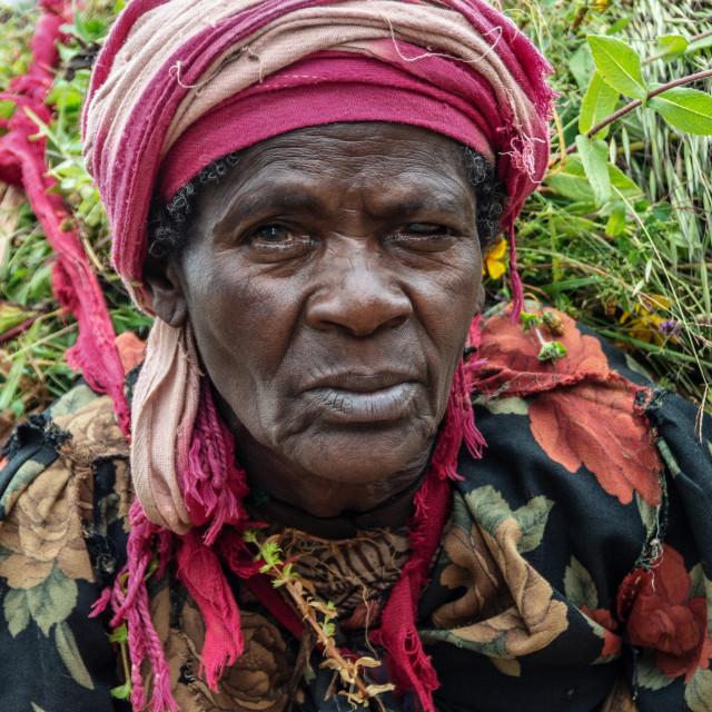 """dorze village visit in ethiopia"" stock image"