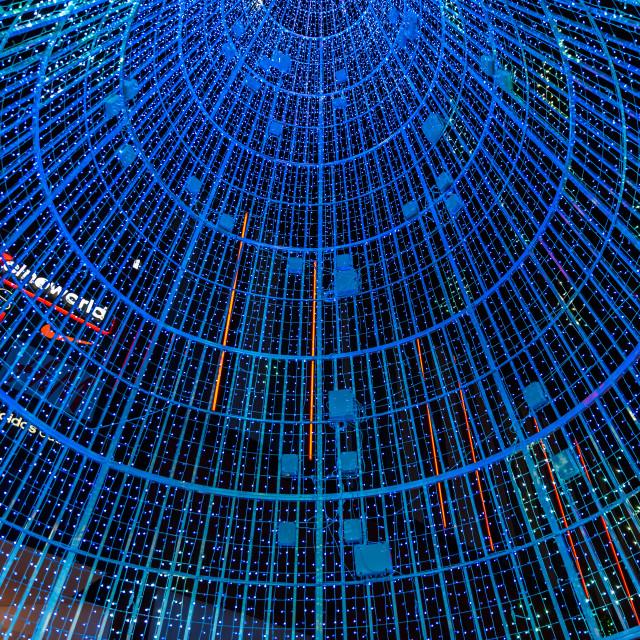 """""""The Hopeful Tree - Wembley Park, London, UK (II)"""" stock image"""