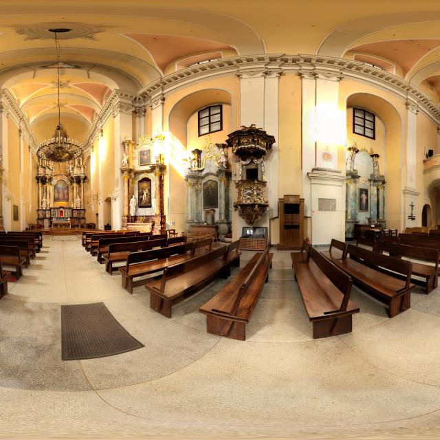 """St. Apostles Philip and Jacob Church - Vilnius, Lithuania"" stock image"