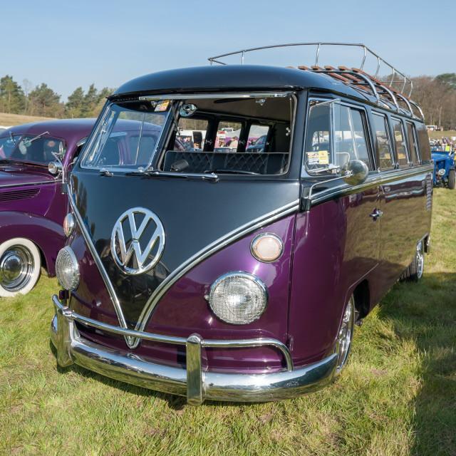 """""""Volkswagen Camper motor home"""" stock image"""