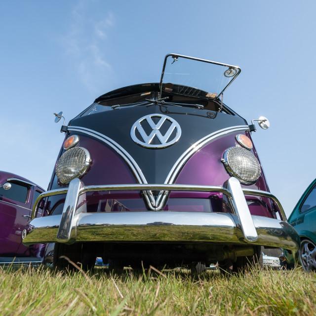 """""""Volkswagen camper van"""" stock image"""