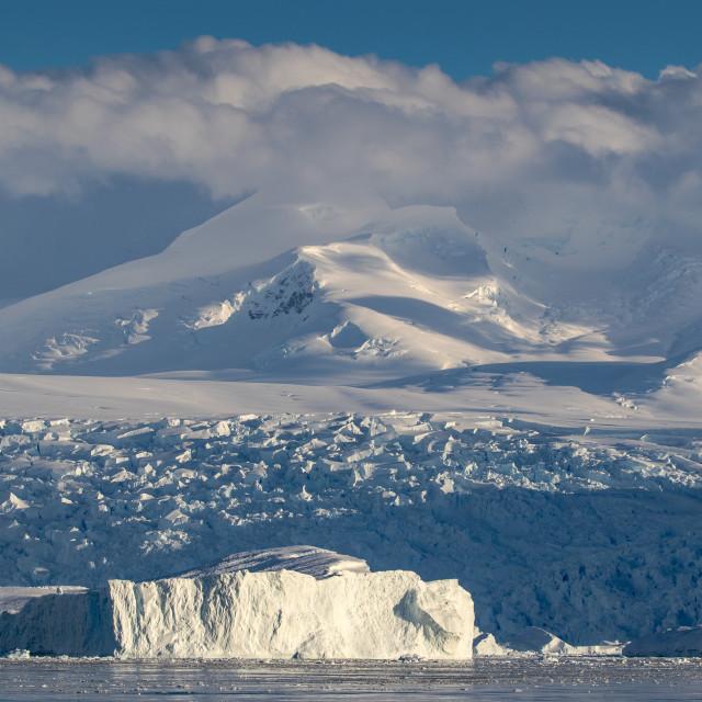 """Cierva Cove, Antarctica"" stock image"