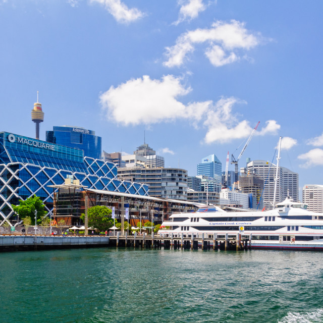 """Leaving Darling Harbour - Sydney"" stock image"
