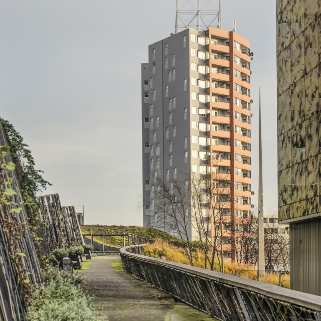 """""""Rotterdam residential tower"""" stock image"""