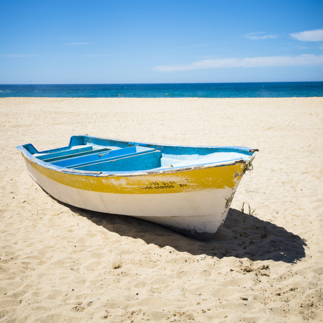 """Fishing Boats of Todos Santos"" stock image"