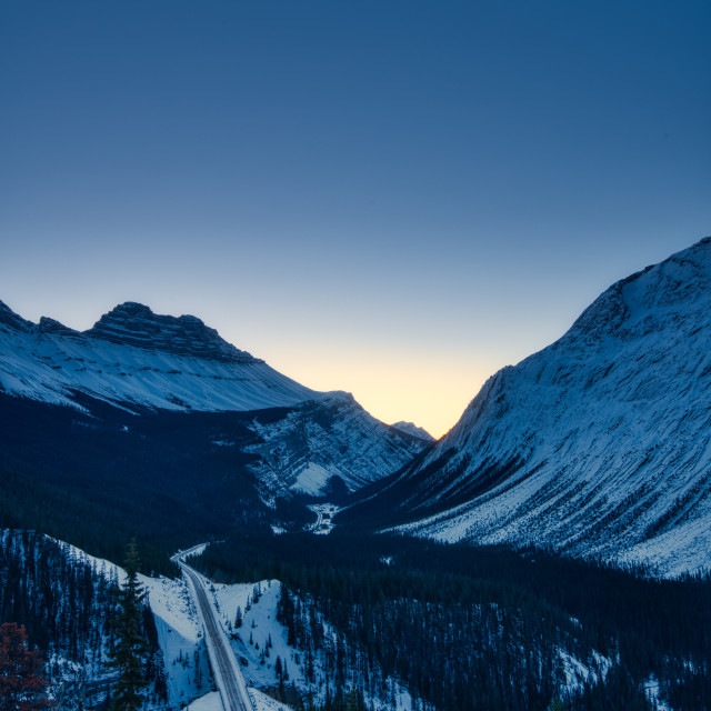 """Icefields Highway"" stock image"