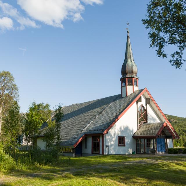"""Leirbotn church"" stock image"
