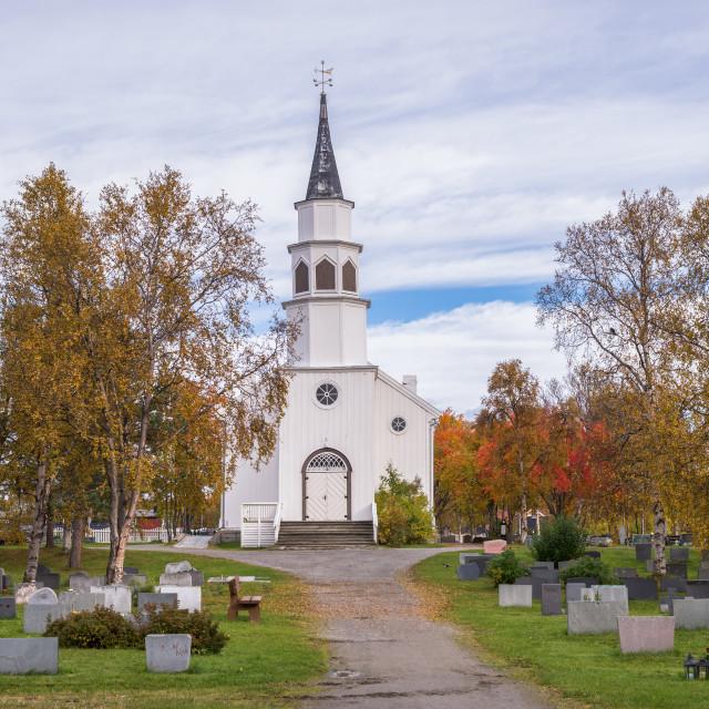 """Alta church"" stock image"