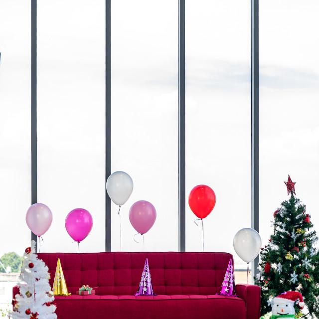 """Living room christmas new year"" stock image"