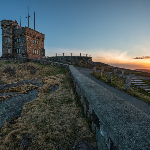 """Signal Hill Sunset"" stock image"