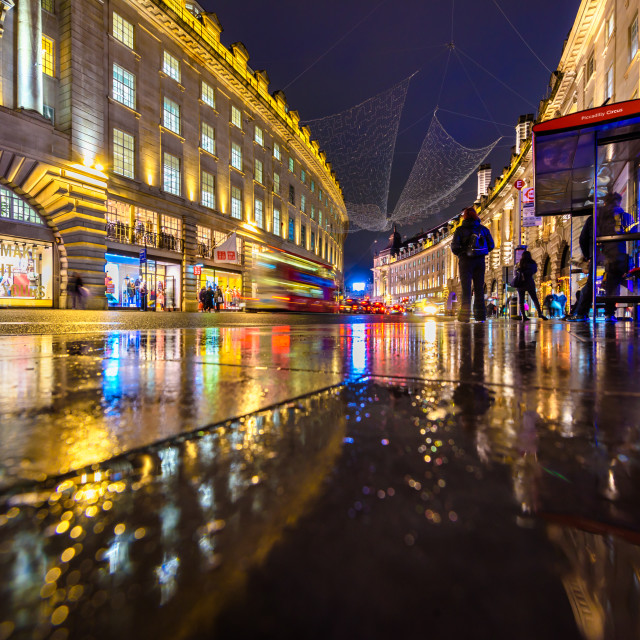 """Regent Street, London, UK (I)"" stock image"