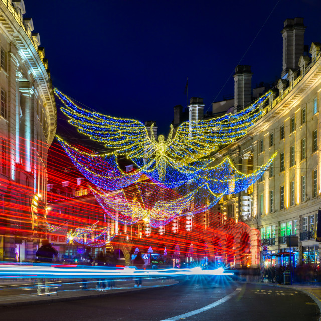"""Regent Street, London, UK (II)"" stock image"