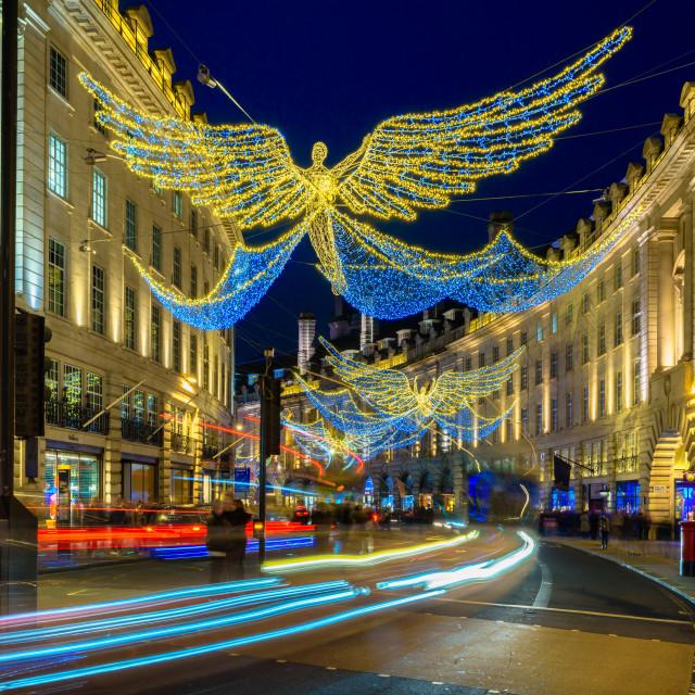 """Regent Street, London, UK (III)"" stock image"