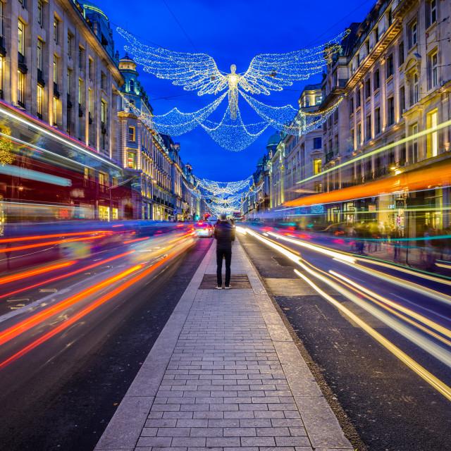 """""""Regent Street, London, UK (V)"""" stock image"""
