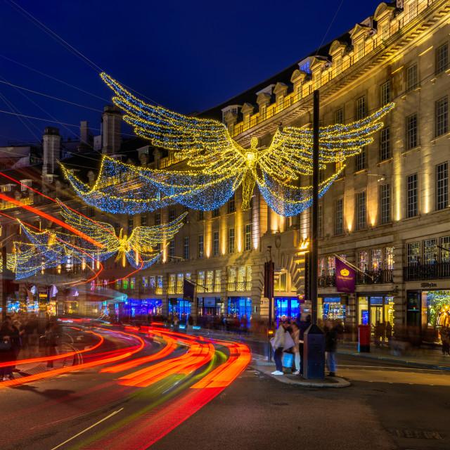 """Regent Street, London, UK (IV)"" stock image"