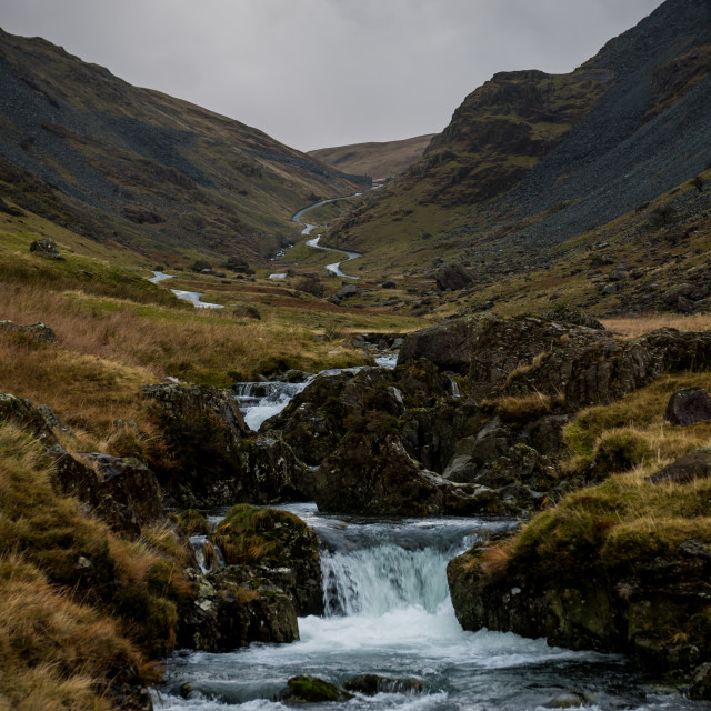 """""""The Honister Pass"""" stock image"""