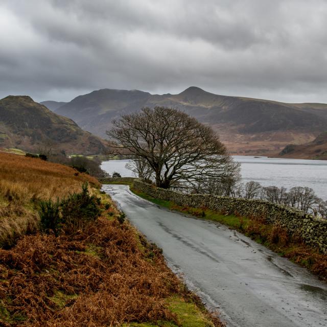 """Lake District Landscape"" stock image"