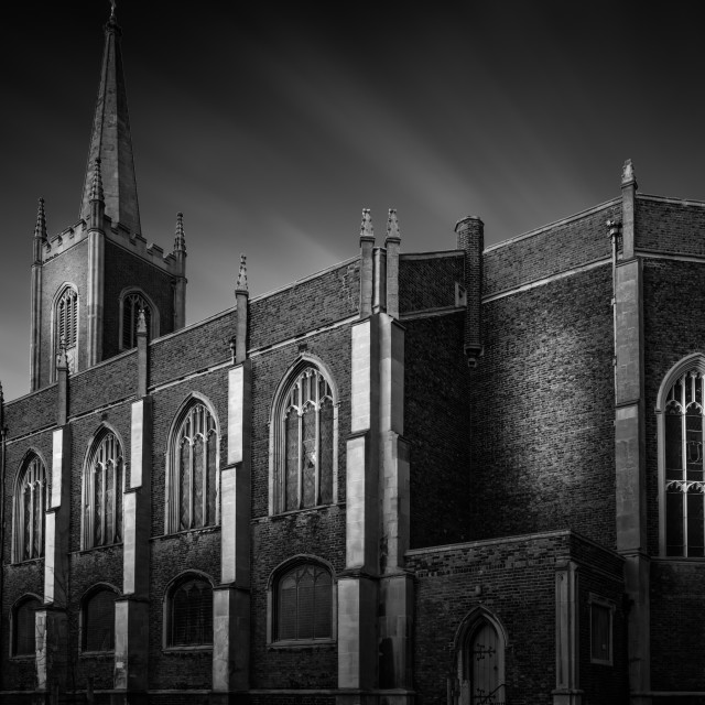 """St Nicholas Church Harwich"" stock image"