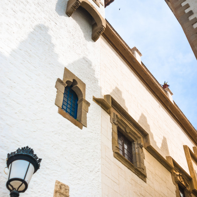 """Architecture Details in Sitges Spain"" stock image"