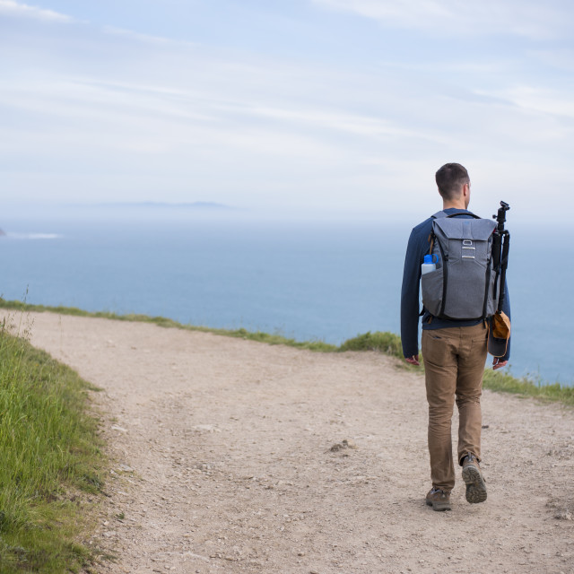 """Point Reyes National Seashore Hiking"" stock image"