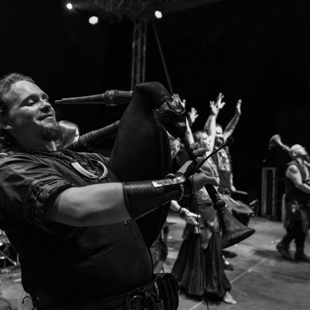 """""""Acus Vacuum at Malpaga Folk and Metal Fest (BG) 29-07-2018"""" stock image"""