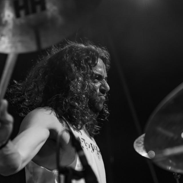 """Atavicus at Malpaga Folk and Metal Fest (BG) 29-07-2018"" stock image"