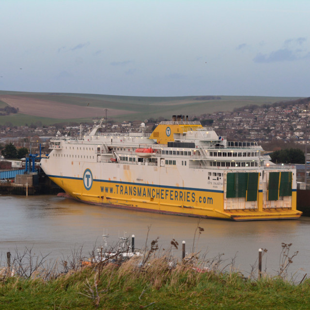 """Newhaven ferry boat"" stock image"