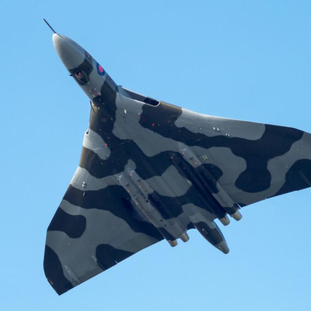 """Avro Vulcan Aircraft"" stock image"