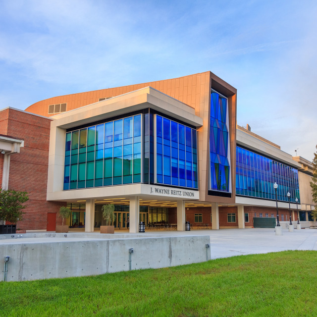 """Reitz Student Union at the University of Florida"" stock image"