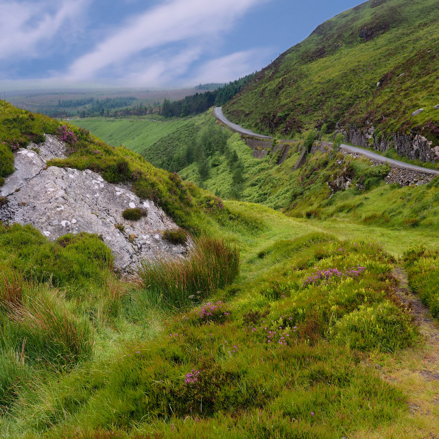 """County Wicklow, Ireland"" stock image"