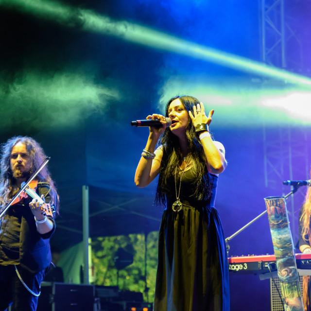"""Shadygrove at Bum Bum Festival (BG) 30-08-2018"" stock image"