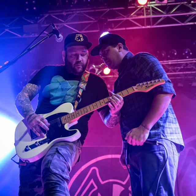 """Alien Ant Farm at Live Music Club (MI) 14-11-2019"" stock image"