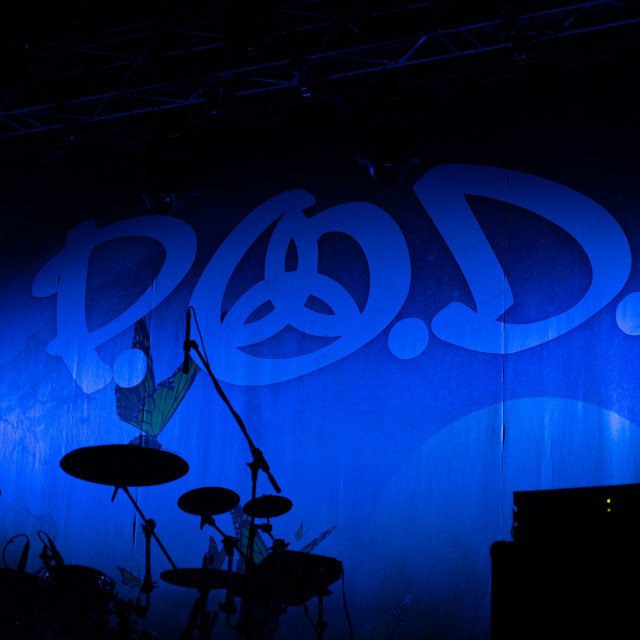 """P.O.D. at Live Music Club (MI) 14-11-2019"" stock image"