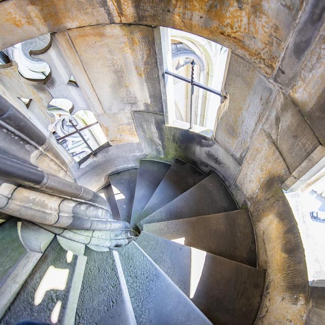 """Stone stairs"" stock image"