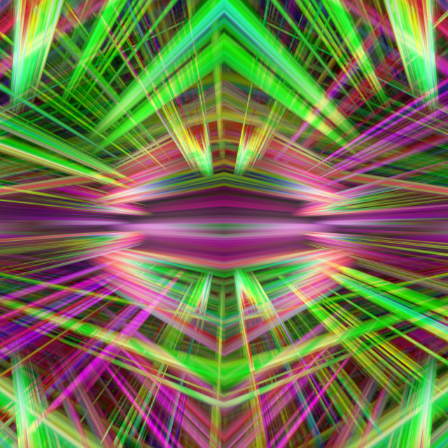 """""""Colorful light beams background"""" stock image"""