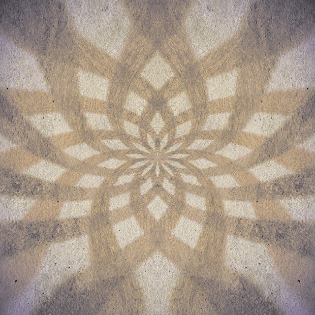 """""""Brown distressed flower pattern"""" stock image"""