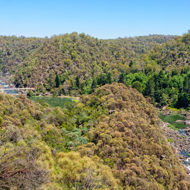 """Cataract Gorge Reserve - Launceston"" stock image"