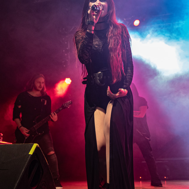 """Eluveitie at Live Music Club (MI) 06-11-2019"" stock image"