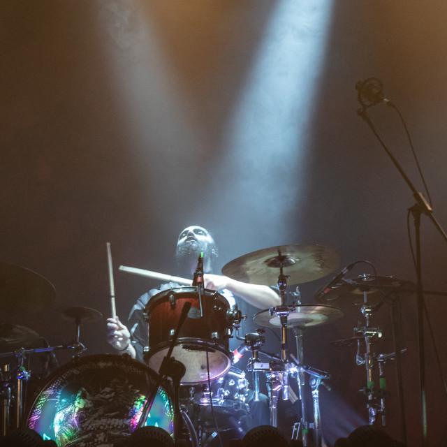 """Lacuna Coil at Live Music Club (MI) 6-11-2019"" stock image"
