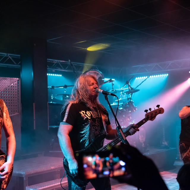 """Primal Fear at Legend Club (MI) 03-10-2018"" stock image"