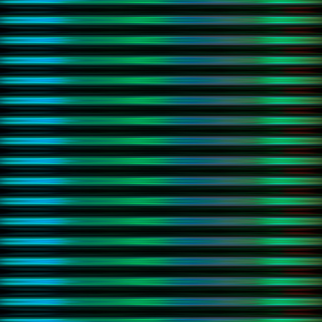 """""""Green and blue blurred stripes background"""" stock image"""