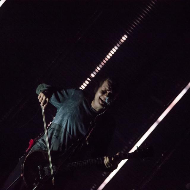 """""""Sigur Ros live at Mediolanum Forum (MI) 17-10-2017"""" stock image"""