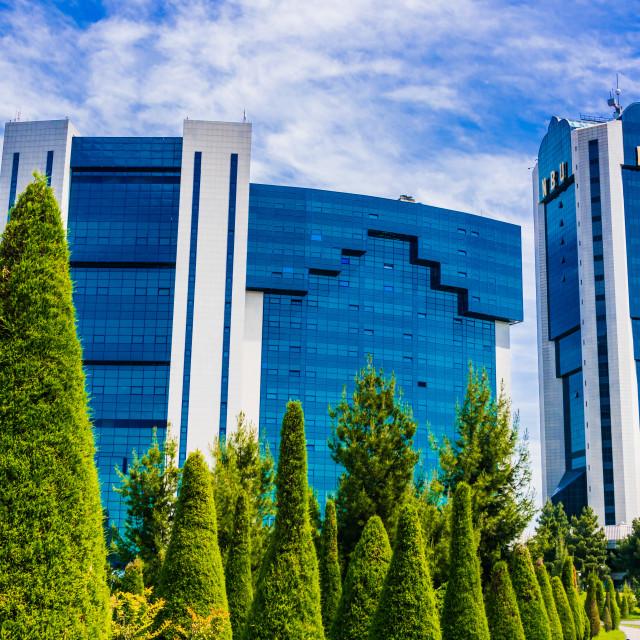 """International Business Center in Taskent, Uzbekistan"" stock image"
