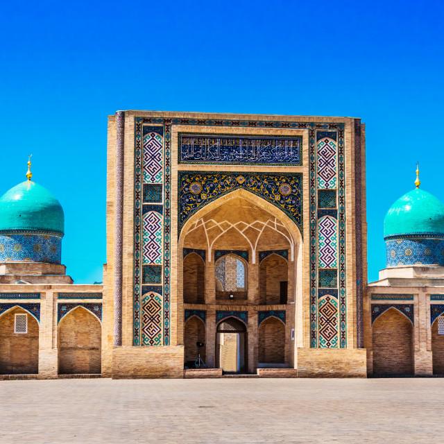 """""""Khast Imam Mosque in Tashkent, Uzbekistan"""" stock image"""