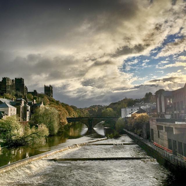 """Durham City"" stock image"